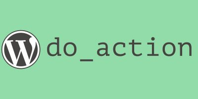 The do_action logo on a green background